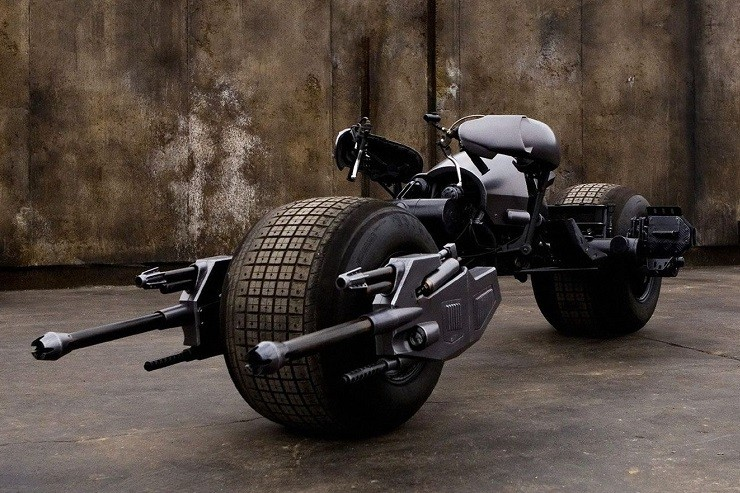 The Dark Knight's Batpod 1