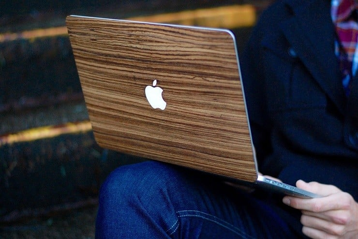Touch Of Wood MacBook Covers