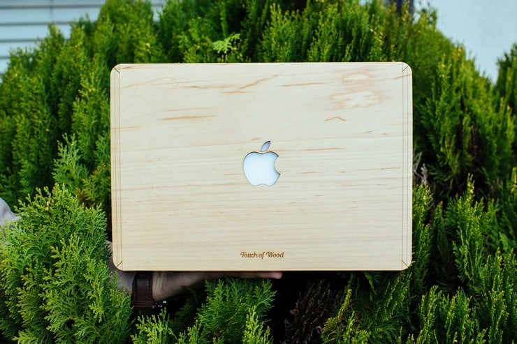 Touch Of Wood MacBook Covers 4