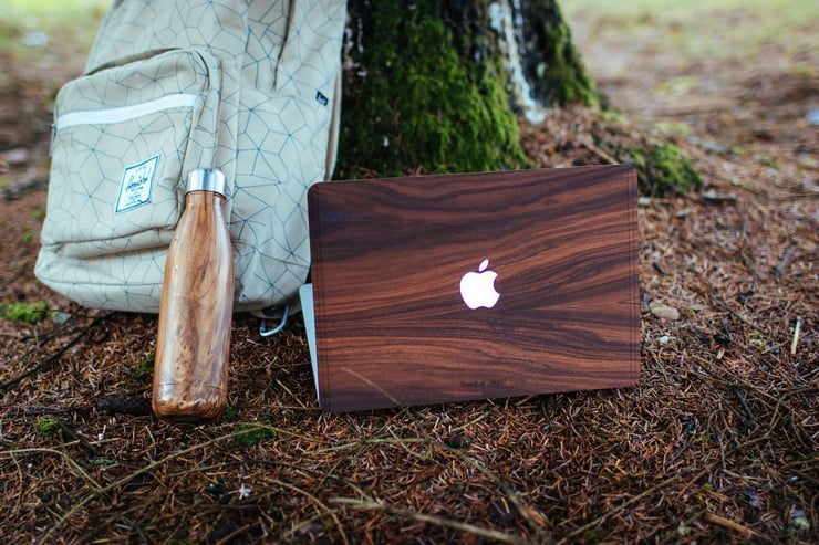 Touch Of Wood MacBook Covers 6