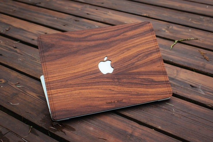 Touch Of Wood MacBook Covers 7