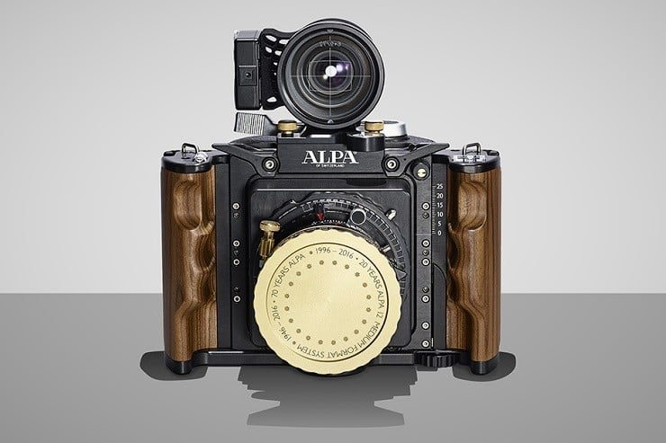 ALPA 12SWA Anniversary Edition Camera