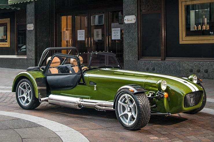 Caterham X Harrods Special Edition Car