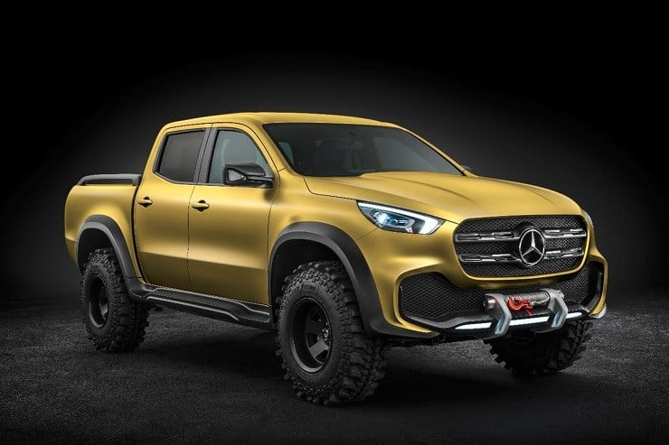 Most Reliable Truck Ever >> Mercedes-Benz X-Class Concept Truck | Men's Gear