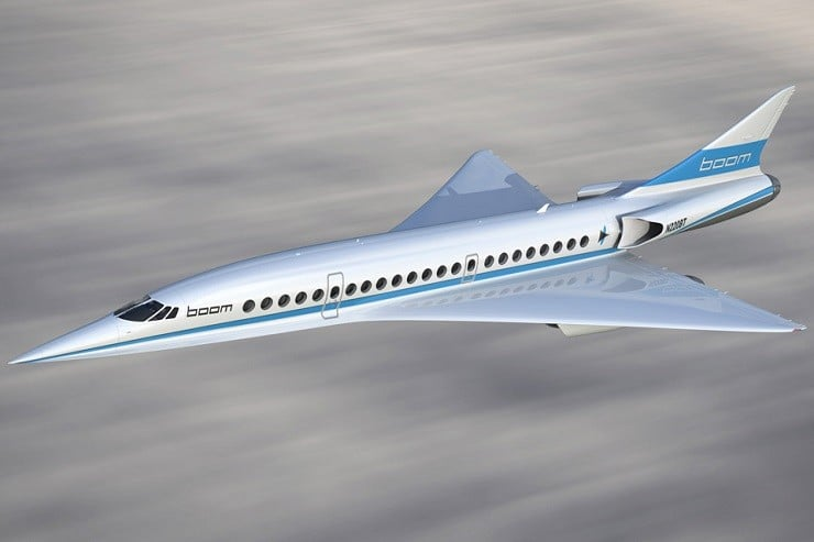 Boom XB-1 Supersonic Demonstrator Passenger Plane