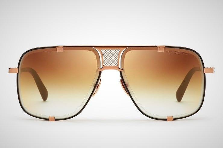 Dita Mach-Five Aviator Sunglasses