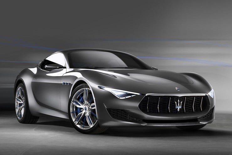 Maserati Alfieri Electric Sports Car