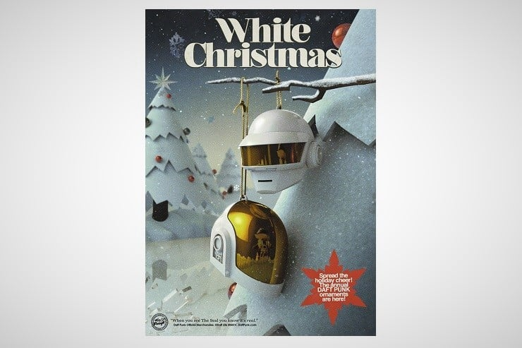 Daft Punk Christmas Ornaments