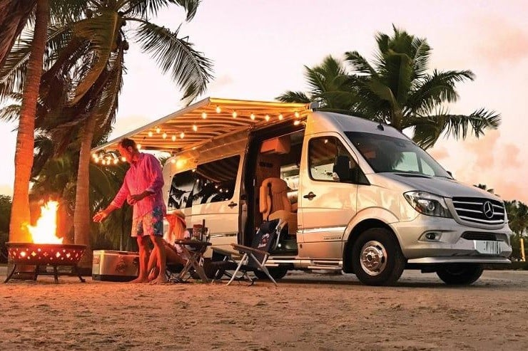 Airstream x Tommy Bahama Travel Trailer & Touring Coach
