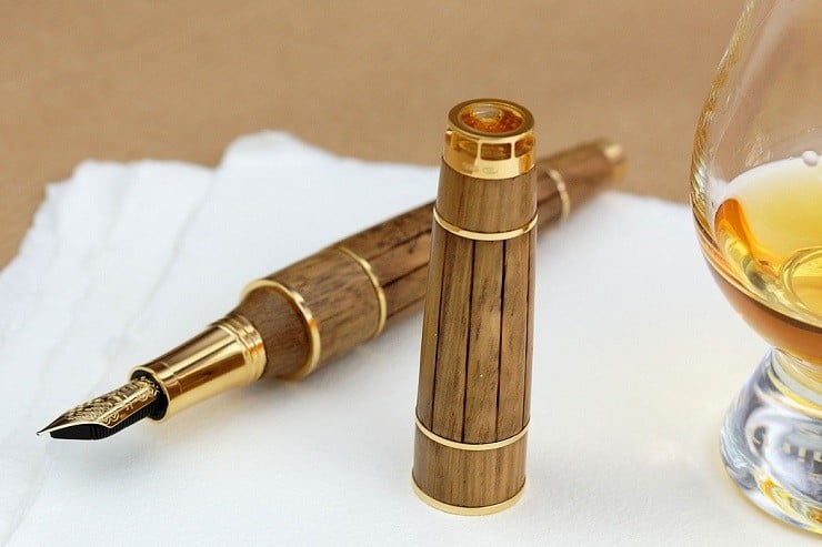 Cognac Fountain Pen