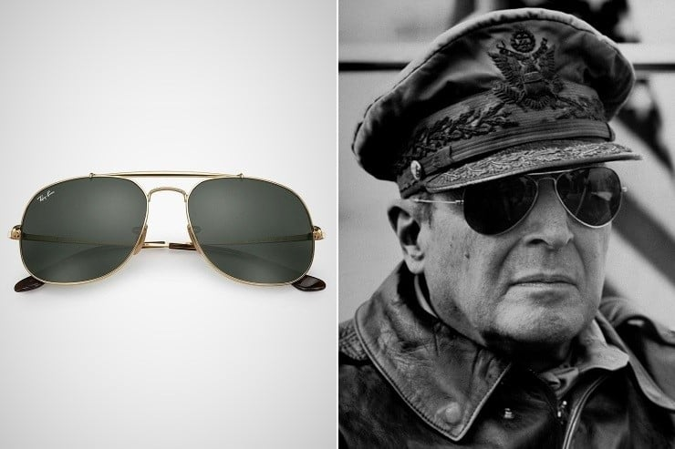 ray ban aviator general