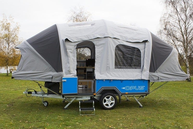 The British-made Opus c&er has garnered huge popularity for its excellently equipped interior simple pop-up assembly its capacity for hauling gear ... & Air Opus Inflatable Trailer Tent | Menu0027s Gear