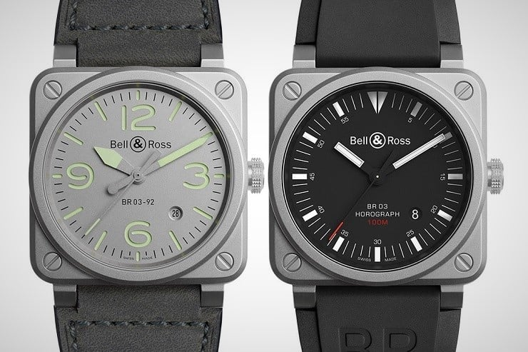 Bell & Ross BR 03-92 Horograph and Horolum Watches