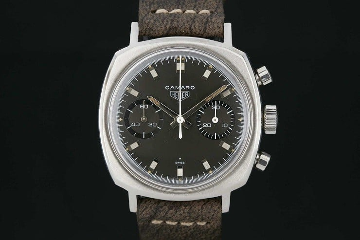 Vintage Heuer Camaro Watch