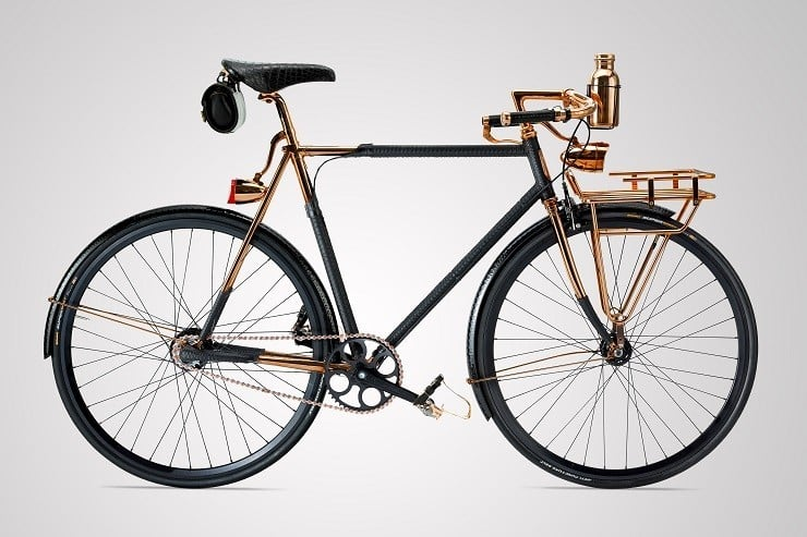 Wheelmen Phyton-Wrapped Bicycle
