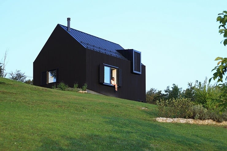Croatian Black-Wooden Countryhouse