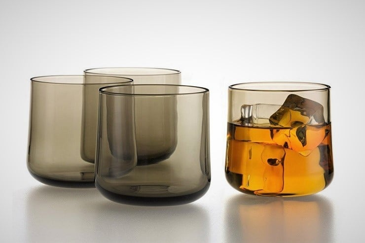 Decicio Handblown Whiskey Glasses