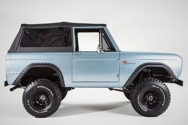 San Francisco Ford Bronco