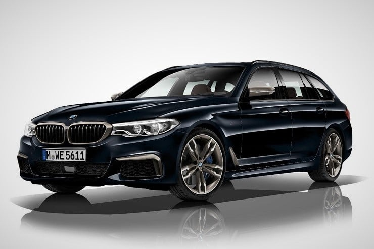 BMW M550d xDrive Quad-Turbo Sedan