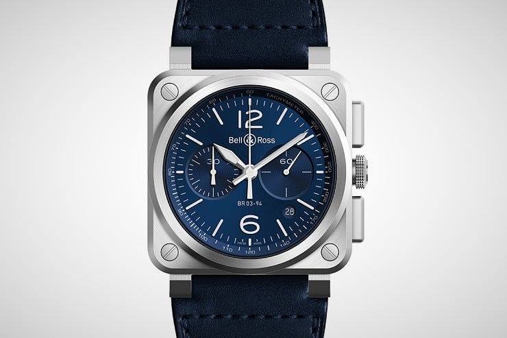 Bell & Ross BR 03-94 Blue Steel Watch