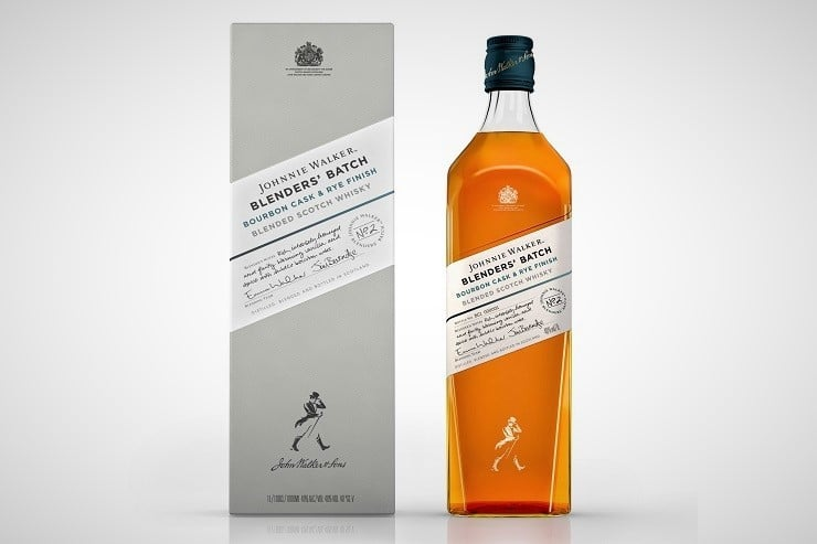 Johnnie Walker Bourbon Cask & Rye Finish