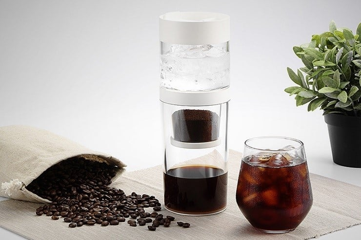 Dripo ice drip coffee maker luxury for Best luxury coffee maker