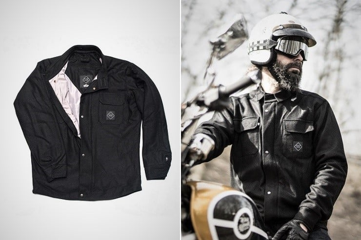 Crave Montana Kevlar Lined Shirt Jacket