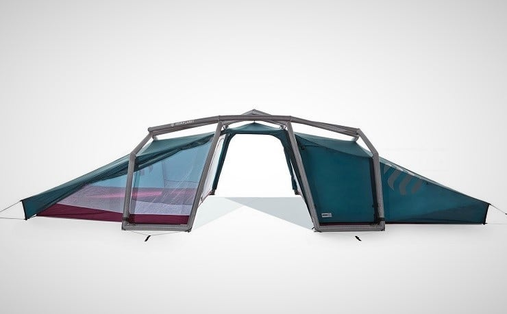 The Heimplanet Nias tent comes with all necessary stakes and tie-downs and a repair kit for quick field repairs in case of accidents. & Heimplanet Nias 6-Person Tent | Menu0027s Gear