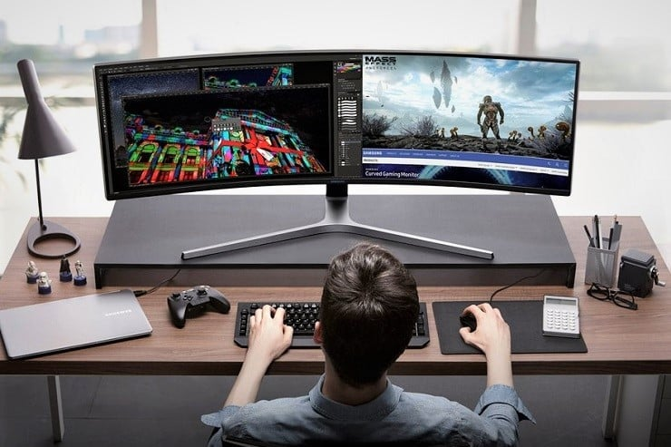 Samsung CHG90 Ultra Wide Gaming Monitor