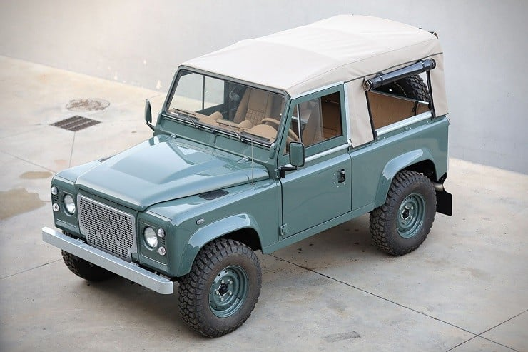 Land Rover Defender D90 by Cool & Vintage