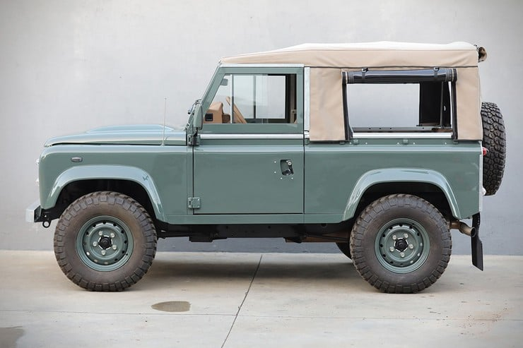 With This Defender D90 On Their List Of Accomplishments Cool Vintage Is Putting Its Mark The Bespoke Aftermarket World Custom Vehicles Via