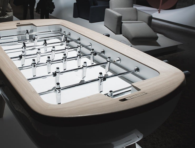 Pure outdoor foosball table men 39 s gear - Who invented table football ...