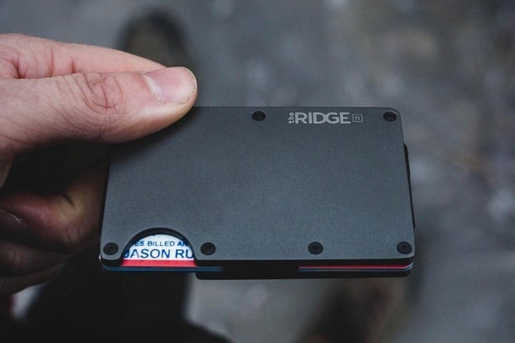 Hands-on: Ridge Titanium Wallet