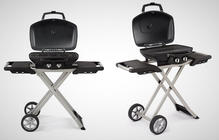The Go Anywhere Grill Uses Standard One Pound Propane Cylinders But The  Optional Hose Allows Hookup To A 20 Lb. LP Tank.