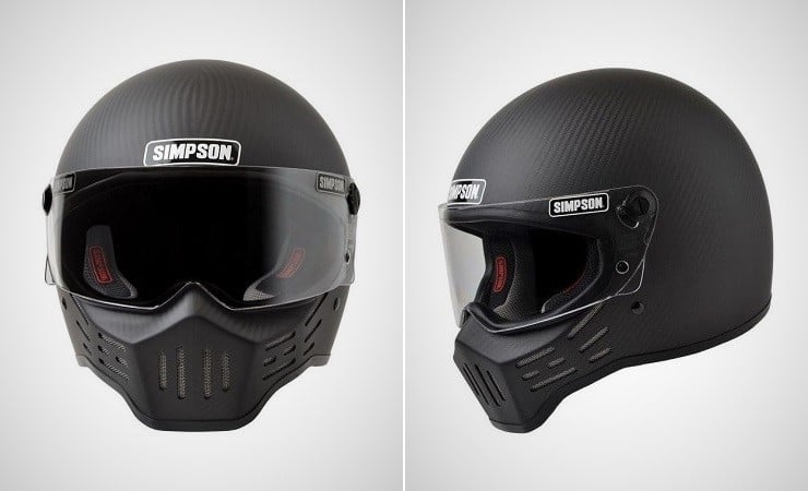 Simpson M30 Bandit Carbon Fiber Helmet Men S Gear