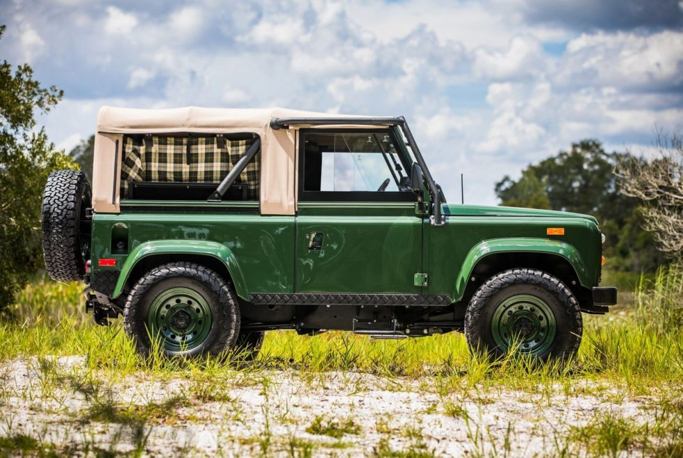 Project Barbour Land Rover Defender Giveaway | Men's Gear
