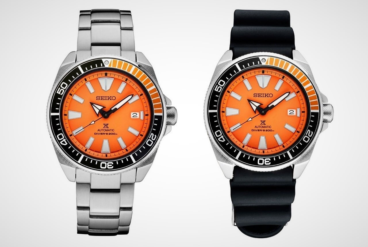 Seiko Prospex Orange Samurai Watch Men S Gear