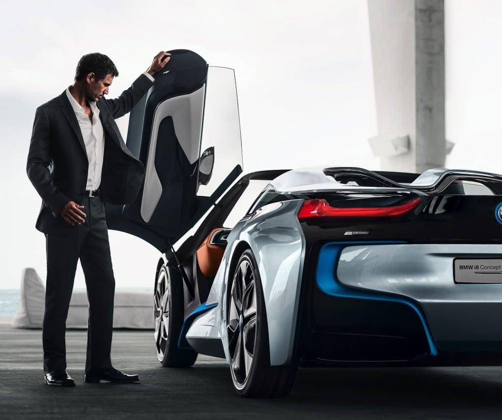 Bmw I8 Electric: BMW I8 SPYDER CONCEPT