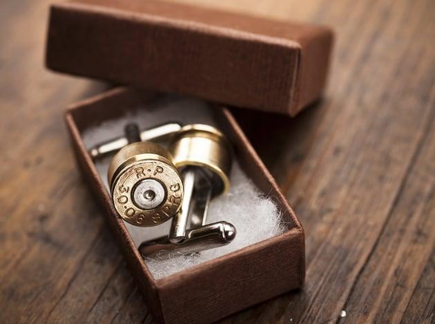 Bullet Cufflinks  Mens Gear-7871