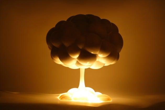Nuclear Mushroom Lamp By H220430  Mens Gear-1943