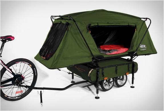 BICYCLE CAMPER TRAILER | BY KAMP-RITE & camper trailer | Menu0027s Gear