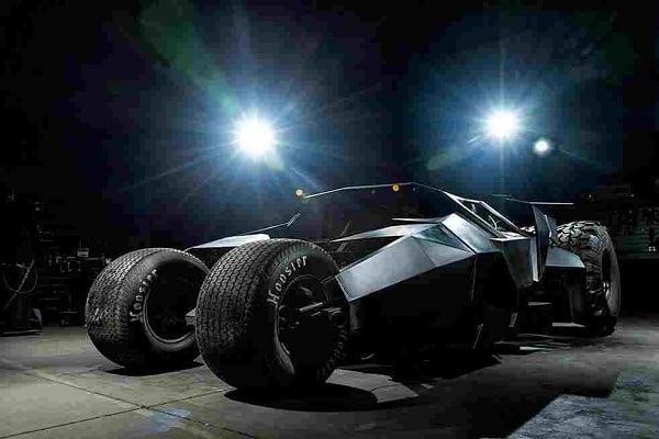$1.6 MILLION BATMAN TUMBLER REPLICA