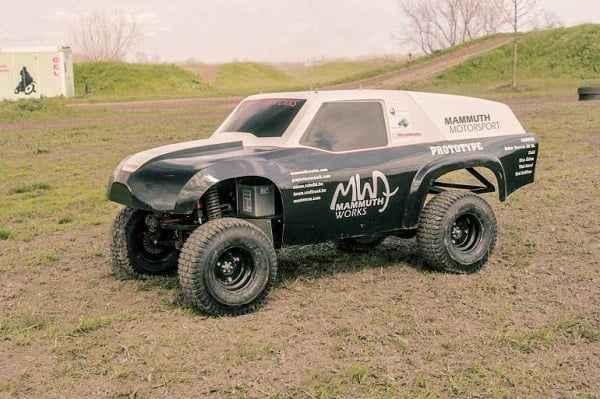 WORLD'S FIRST 1-3 SCALE PRODUCTION RC CAR
