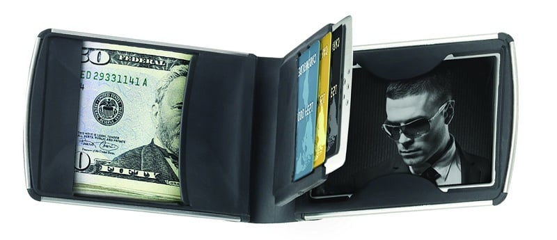 Zippo Stainless Steel Wallet Men S Gear