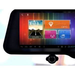 Android 4 0 Gps Dvr Bluetooth Rear View Mirror Men S Gear