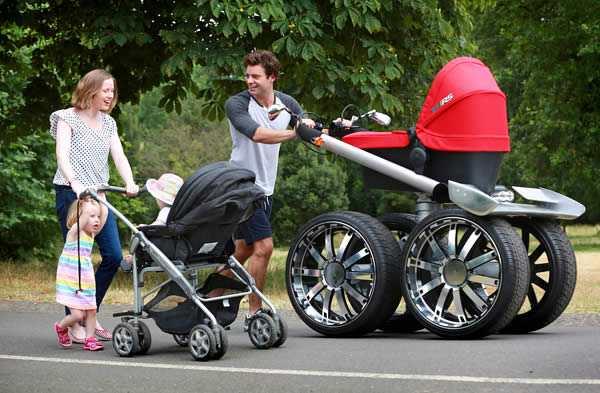 Mega Man Pram Baby Stroller Men S Gear