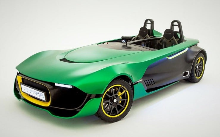 Caterham Aeroseven Concept Men S Gear