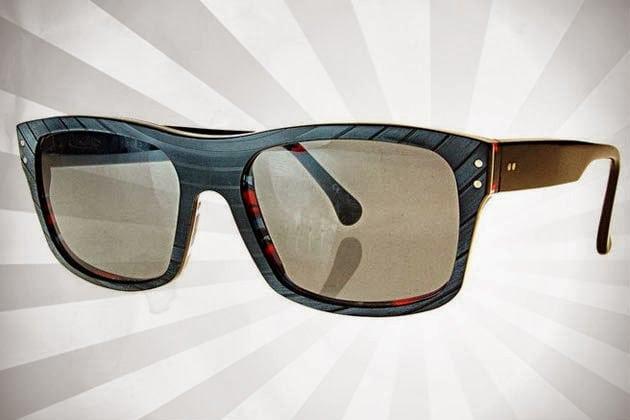 Vinylize Eyeglasses Made From Recycled Vinyl Records Men