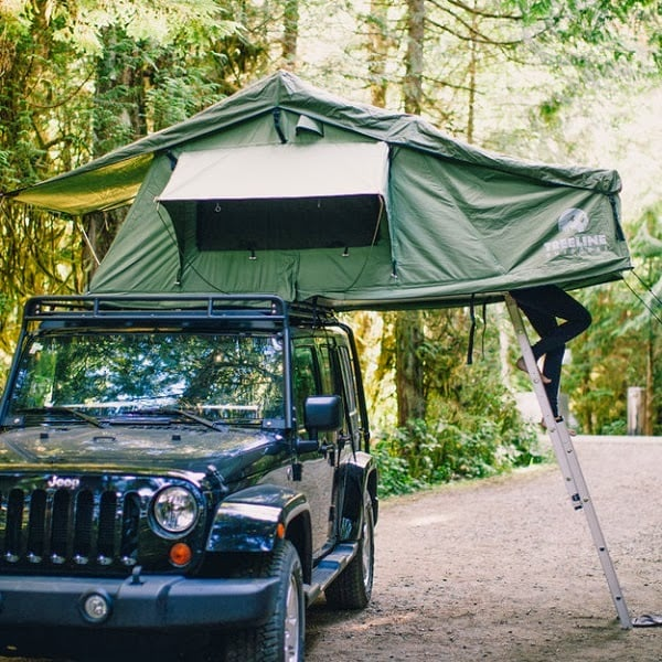 Roof Top Tent By Treeline Outdoors Men S Gear