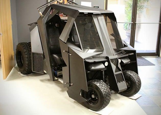 BATMAN TUMBLER GOLF CART | Men's Gear on